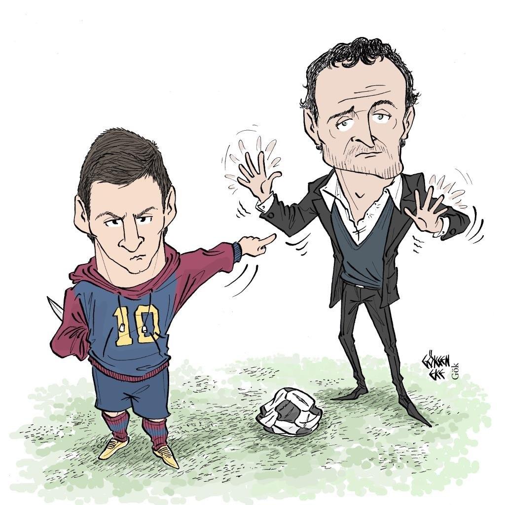 Постер к новости Месси против Лучо. Что за чертовщина происходит в «Барселоне»?