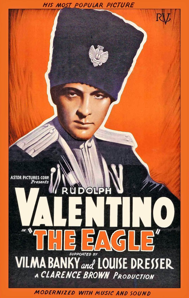 Афиша Владивосток Орёл (The Eagle, 1925)