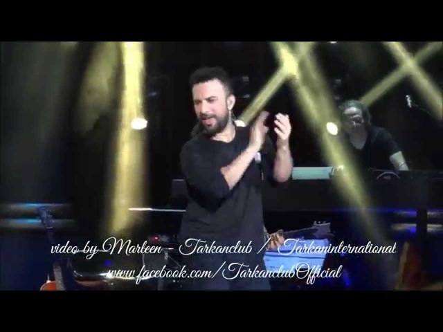 TARKAN Hop De Live @ Harbiye, Istanbul - September 7th, 2014