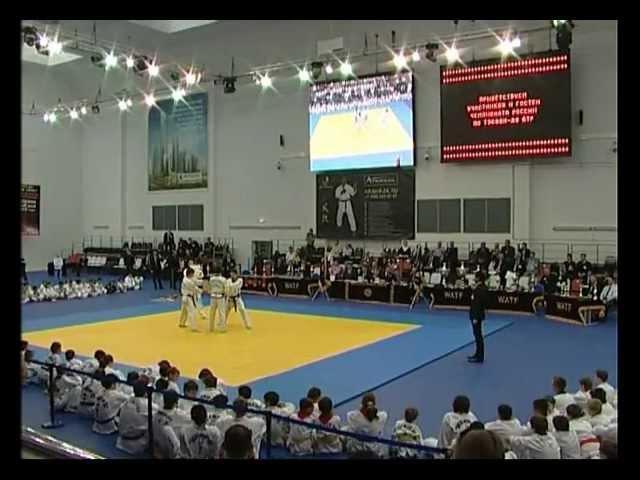 Чемпионат России по Тэквон-до (IATF) 2012г. г Москва полная версия