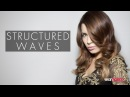 How To Blow-Dry Hair Into Structured Waves | seanhanna
