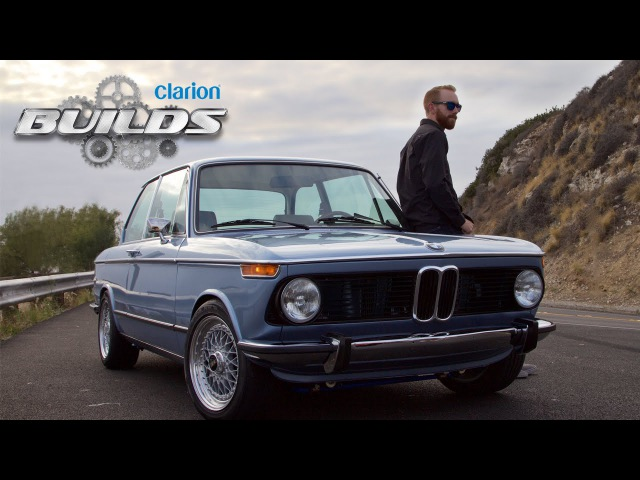 Chris Forsberg Hits the Streets in the Clarion Builds BMW 2002