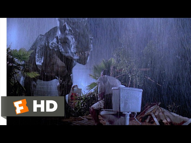 147 Jurassic Park (4/10) Movie CLIP - Tyrannosaurus Rex (1993) HD