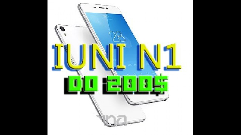 Обзор Gionee IUNI N1 - Бюджетная версия || процессор MediaTek MT6753, 8 - ядер, SD-карта на 128Гб