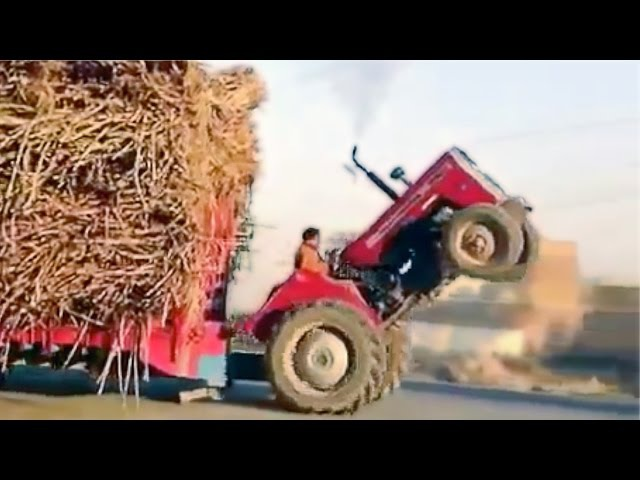 ULTIMATE TRACTOR FAILS 2015 ★ EPIC 8mins Tractors FAIL / WIN Compilation