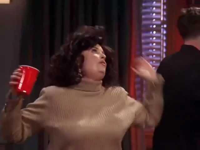 Monica and Rachel's dance