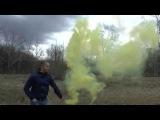 Фонтан-цветной дым( желтый) Цветной-дым52.рф в Нижнем Новгороде