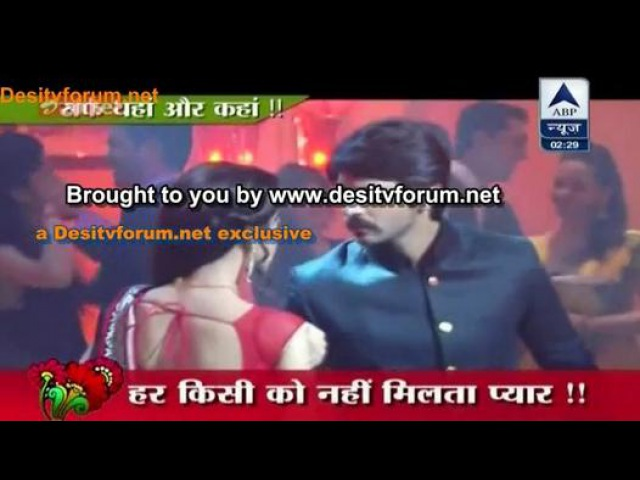SBS 22nd April'14-Rangrasiya-Party Mein Rudra Paro Ka RomanticDance