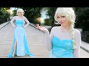 DIY ELSA FROZEN COSTUME - ADULT CHILD