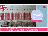 Christmas Crafts: Tutorial How to make a DIY Advent Calendar with clothes pins