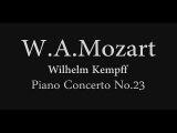 W.A.Mozart Piano Concerto No.23 Wilhelm Kempff