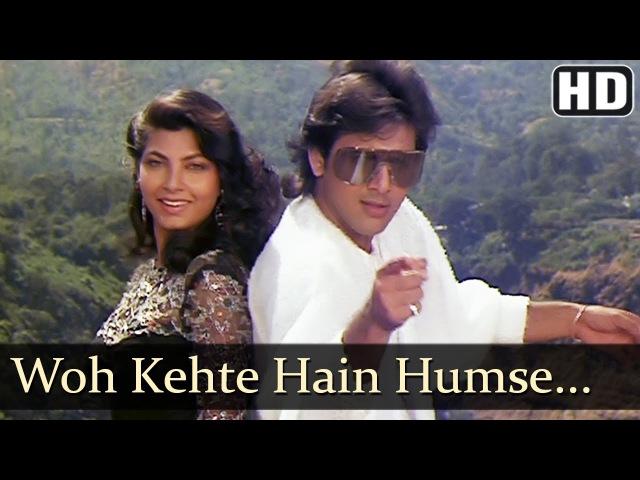 Woh Kehte Hai Humse   Govinda   Kimi Katkar   Dariya Dil   Old Hindi Songs   Nitin Mukesh