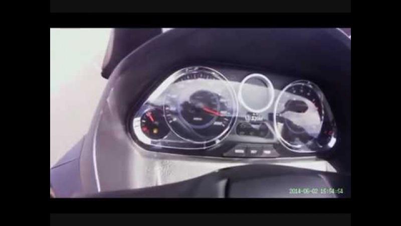 SYM Maxsym 600i ABS at 190km/h