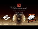 Team Secret vs Virtus.Pro | TI 2015, Плей-офф, Нижняя сетка, 1-я игра, 06.08.2015