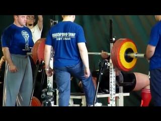Андрей Маланичев - срыв на жиме 310 кг