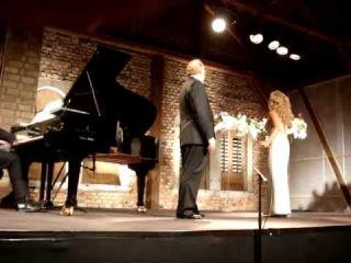Olga Romanko - Giuseppe Giacomini, Duetto Tosca primo atto