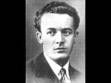 Сергей Лемешев La barchetta Reynaldo Hahn in Russian