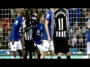 Papiss Cisse Elbows Seamus Coleman Newcastle United vs Everton 3-2
