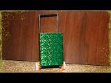 Как Сделать Дорожный Чемодан для Кукол.How to Make Doll Luggage Suitcase