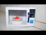 Как сделать микроволновку для кукол . How to make a microwave for dolls