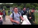 Спецназ МВД снова пришёл на ножевой бой