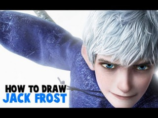 How to Draw Jack Frost from Rise of the Guardians.