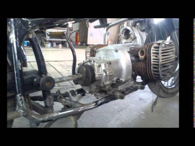 (Урал,Днепр) К-750 Переделка под круйзер, ни одной запчасти от импортного мотоцикла