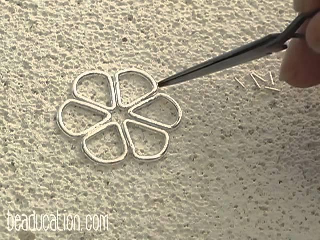 Fused Flower Earrings - Beaducation.com