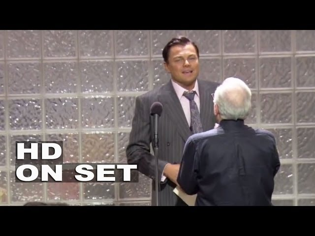 The Wolf of Wall Street Behind the Scenes Broll Part 1 of 2 Leonardo DiCaprio Jonah Hill