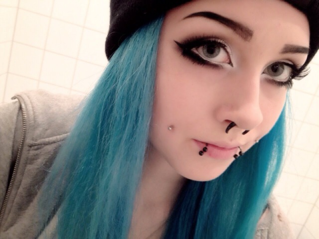 Full EmoSceneAlternative Makeup