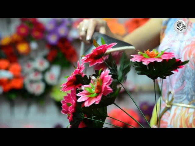Распарка искусственных цветов в домашних условиях