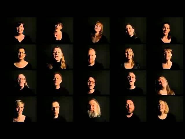 музыка 90 х в акапельном исполнении 20 ти хоровых певцов