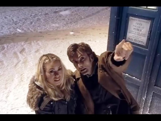 Rose joins the Tenth Doctor - Doctor Who - The Christmas Invasion - BBC