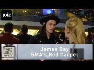 SMA 2015: Sarah freut sich auf die Afterparty mit Ihrem Schatz James Bay