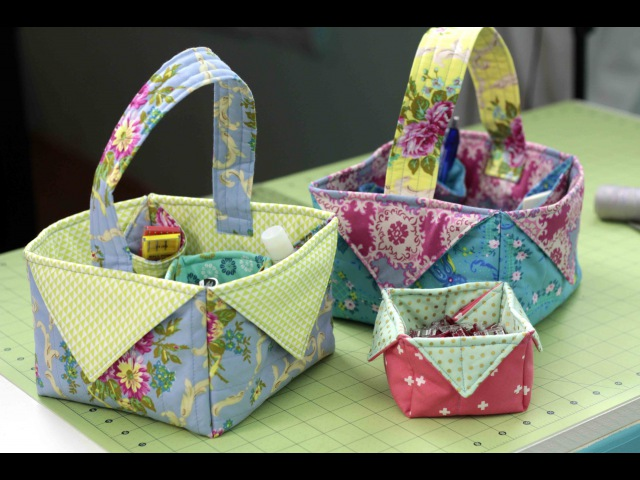 Fabric Box Basket - DIY Sewing Tutorial