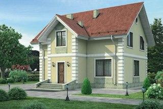 Проекты более 300кв м. Дом из пеноблоков 10=11 ПБ-101