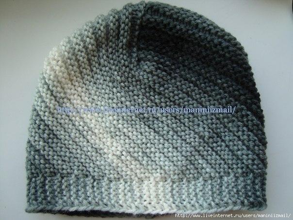 Вязаная шапочка. ФотоМК (9 фото) - картинка