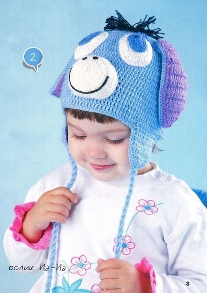 Шапочки для малышей (8 фото) - картинка
