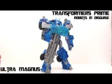 Video Review of the Transformers Prime (RiD) Voyager Class: Ultra Magnus