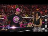 WWE Monday Night Raw - AJ Scandal with John Cena - 10/29/12