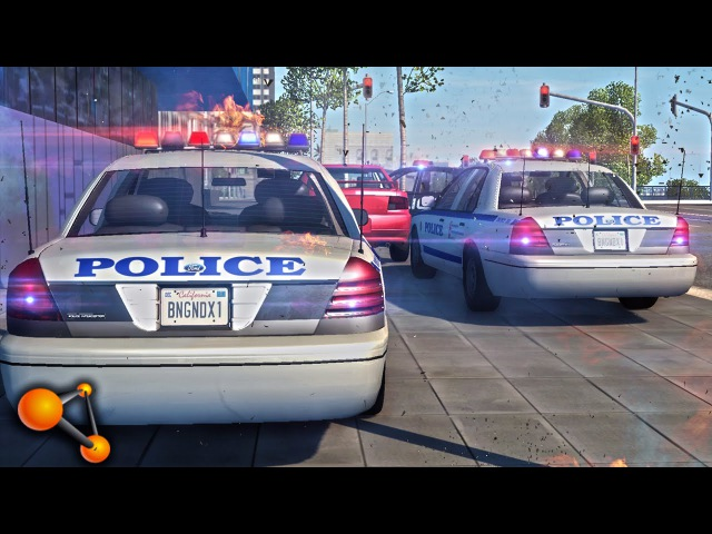 BeamNG POLICE CHASE 8