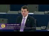 Gerard Batten - Regaining control of our borders to address mass migration