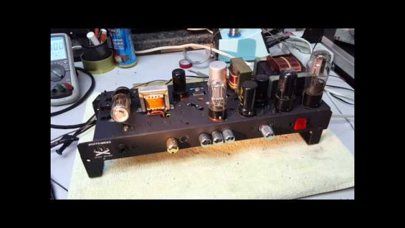 Time Bomb II - Higain metal guitar amp with octal pentode tubes - Part 3 - 7 tubes are running