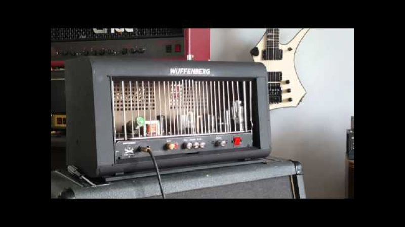 Time Bomb II - Higain metal guitar amp with octal pentode tubes - Part 4 - Clean channel and case