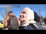 Крым Симферополь 9 марта 2015 Митинг Т.Шевченко Бабуля
