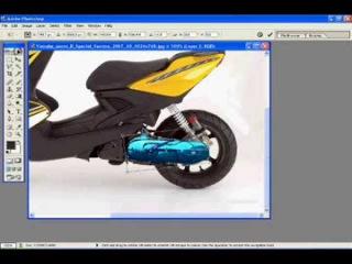 Photoshop - Tuning Yamaha Aerox