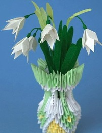 Модульное оригами торт схема сборки фото 592