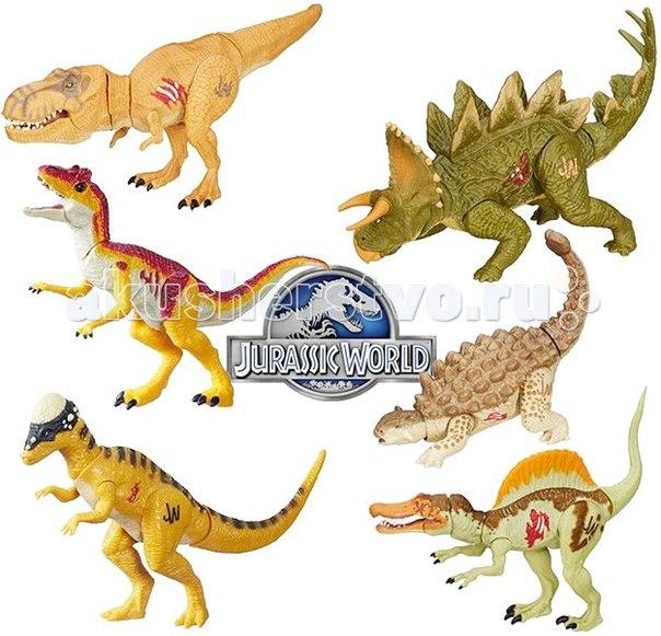 Jurassic world боевая фигурка динозавра мира юрского периода в ассортименте, Hasbro