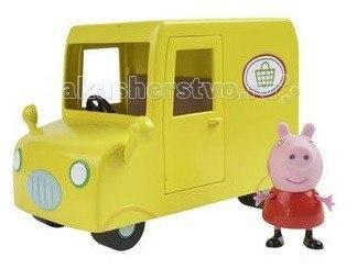 Игровой набор пеппа в автомобиле, Peppa Pig