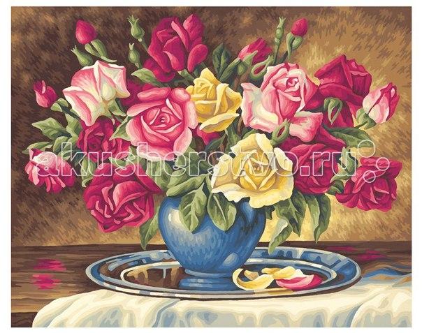Картина по номерам розы для тебя 40х50 см, Schipper